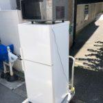 板橋区南町にて冷蔵庫と電子レンジの出張買取に行ってまいりました~♪