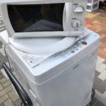 【出張買取】豊島区西池袋にて洗濯機と電子レンジを買取!!